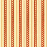 Retro background made with vertical stripes dots and leaves, Vintage hipster seamless pattern Royalty Free Stock Photography