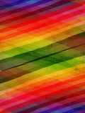Retro background with motley rainbow rhombuses Stock Photos