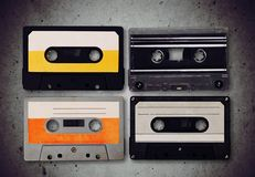 Retro. Background object audio classic hipster popular stock images