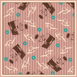 Retro background. stock illustration