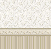 Retro background. Old fashioned vector background sepia toned Stock Photos