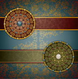Retro background with ornament Royalty Free Stock Photo