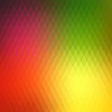 Retro background, pattern rhombs, transition bright colors, vector background. Vector backdrop of geometric shape. Stock Image