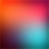 Retro background, pattern rhombs, transition bright colors, vector background. Vector backdrop of geometric shape. Royalty Free Stock Image
