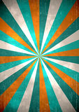 Retro background. Retro rays grunge background. EPS10 vector image Stock Photography