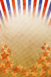 Retro background red, white and blue stripes Stock Photo
