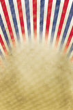 Retro background red, white and blue stripes Stock Images