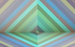 Retro background with rhombus Stock Photos
