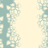 Retro background with roses. Seamless retro background with roses Royalty Free Stock Images