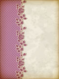 Retro background with roses Royalty Free Stock Images