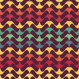 Retro background. Seamless pattern with mustache, retro background Royalty Free Stock Photos