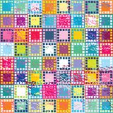 Retro background with squares. Retro background with colored squares Royalty Free Stock Photos