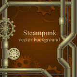 Retro background. Steampunk Royalty Free Stock Photography