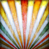 Retro background with sunbeams royalty free illustration