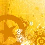 Retro background vector. Grunge style retro background vector royalty free illustration