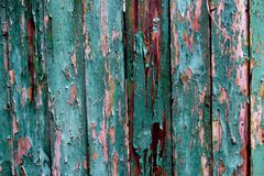 Retro background. Vintage wooden texture. Aged wood. Stock Image