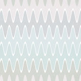 Retro background with waves Stock Image