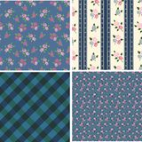 Retro backgrounds with roses Royalty Free Stock Images