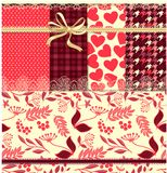Retro backgrounds with roses Royalty Free Stock Photography