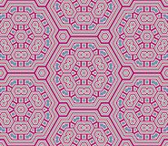 Retro backgrounds and wallpaper in mixt colors and pattern. Retro and illustration geometrical pop abstract stylised design wallpaper as background image, mix Royalty Free Stock Photos