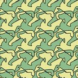 Retro backgrounds and wallpaper in mixt colors and pattern. Retro and illustration geometrical pop abstract stylised design wallpaper as background image, mix Royalty Free Illustration