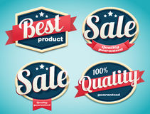 Retro badge eps 10 Premium Quality labels. Illustartion of retro badge eps 10 Premium Quality labels Stock Photography