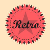 Retro badge Stock Images