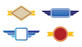 Retro Badges Royalty Free Stock Images