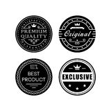 Retro badges Stock Photography