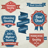 Retro Badges Collection Royalty Free Stock Photo