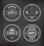 Retro Badges Royalty Free Stock Image