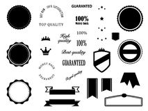 Retro badges elements Royalty Free Stock Photo