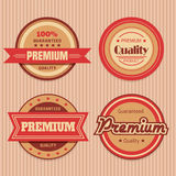 Retro Badges Stock Images