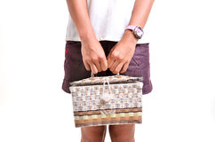 Retro bag Royalty Free Stock Photo