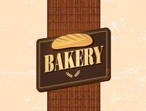 retro bageridesign Royaltyfri Foto