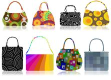 Retro bags Royalty Free Stock Photos