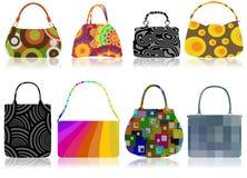 Retro bags stock illustration