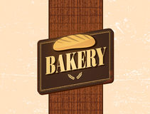 Retro bakery design Royalty Free Stock Photo