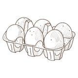 Retro bakery product Stock Image