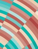 Retro bakgrund med blåa och kastanjebruna bågar för iris Enkelt smattrande Arkivbild