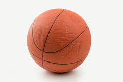 Retro ball of basketball Stock Photos