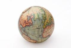 Retro ball globe Stock Image