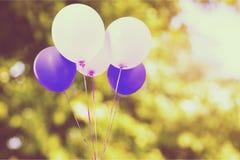 Retro- Ballone Stockbilder