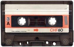 retro band för kassett Fotografering för Bildbyråer