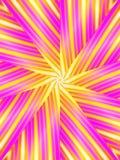 Retro bande di colore rosa del reticolo illustrazione vettoriale