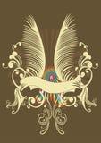 retro baner royaltyfri illustrationer