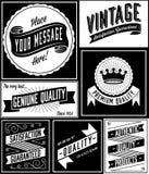 Retro Banner Designs Royalty Free Stock Photo