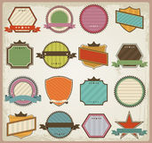 Retro banner sign/ad collection Royalty Free Stock Photography