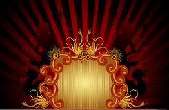 Retro banner vector Royalty Free Stock Image
