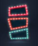 Retro Banners Stock Image